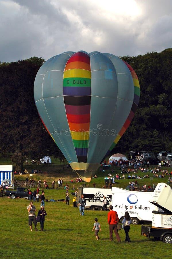 Bristol International Balloon Fiesta Editorial Stock Photo