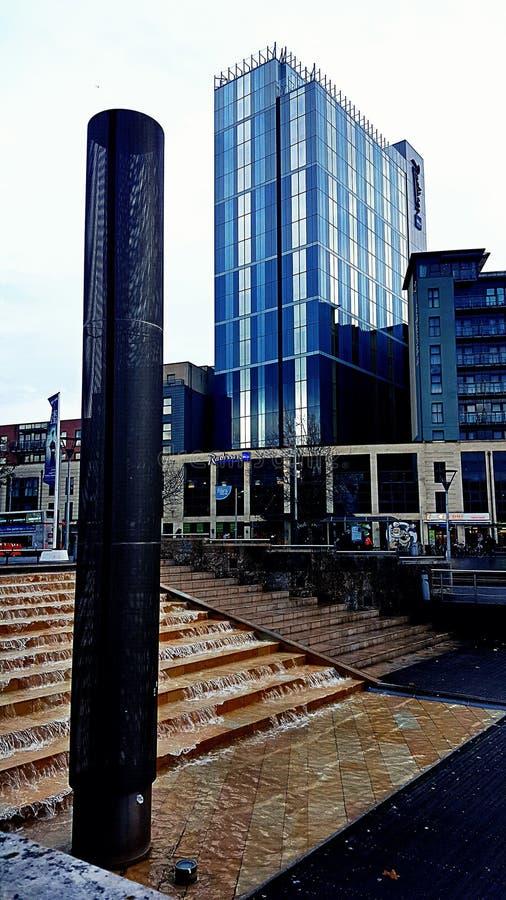 Bristol Landscape moderno fotografia stock libera da diritti