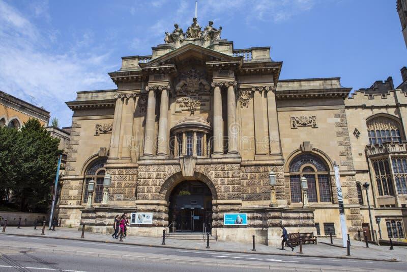 Bristol Museum och Art Gallery arkivbild