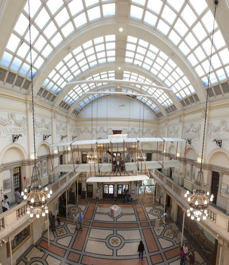Bristol, Reino Unido, el 21 de febrero de 2019, Bristol Boxkite Aeroplane en el museo y la galería de la ciudad imagenes de archivo