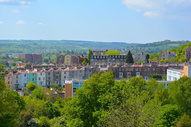 Bristol skyline royalty free stock photography