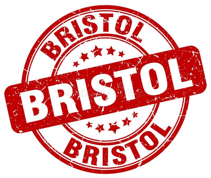 Bristol stämpel royaltyfri illustrationer