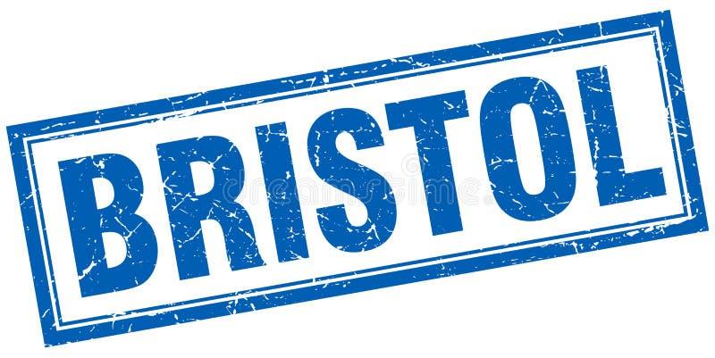 Bristol stämpel stock illustrationer
