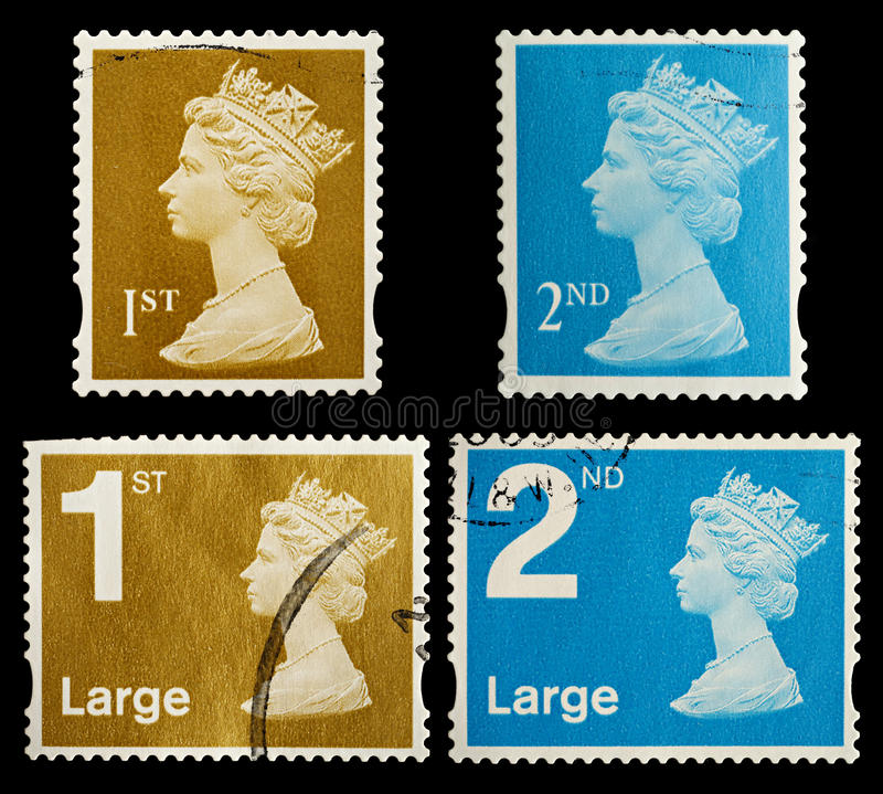 Download Britain Postage Stamps stock photo. Image of britain - 21561404