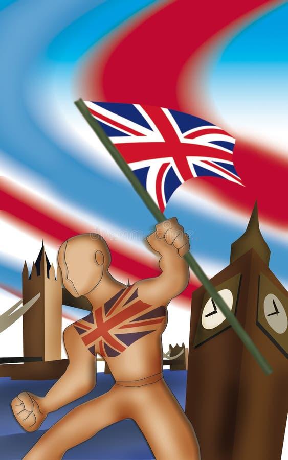 britain symbol stock illustrationer