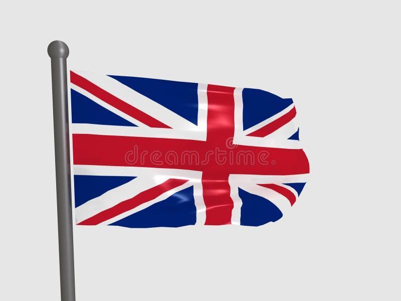 britain wielki chorągwiany ilustracji