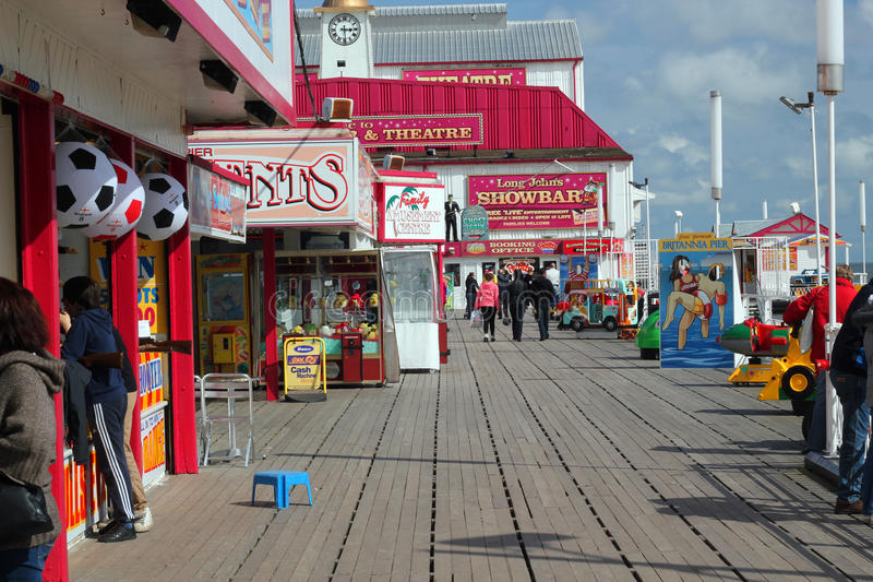 Britannia pier, Great Yarmouth. royalty free stock image