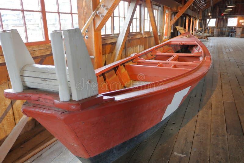 Britannia Shipyard Fishing Boat royalty free stock image