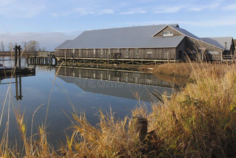 Britannia Shipyard, Richmond, BC. A historic shipyard preserved in Steveston, British Columbia royalty free stock images
