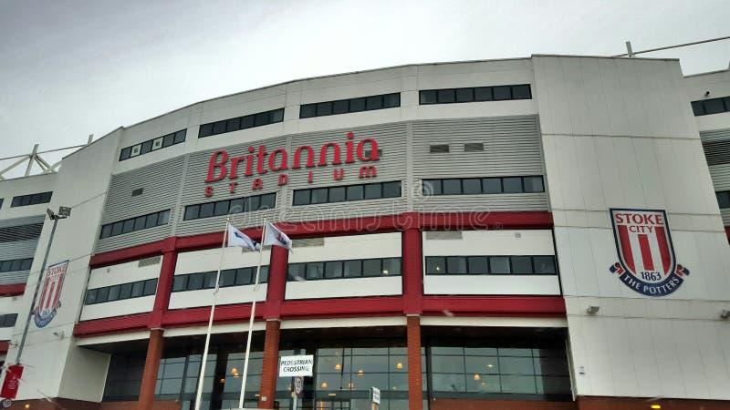 Britannia Stadium imagen de archivo libre de regalías