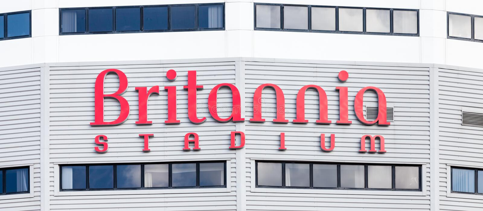 Britannia Stadium photo stock