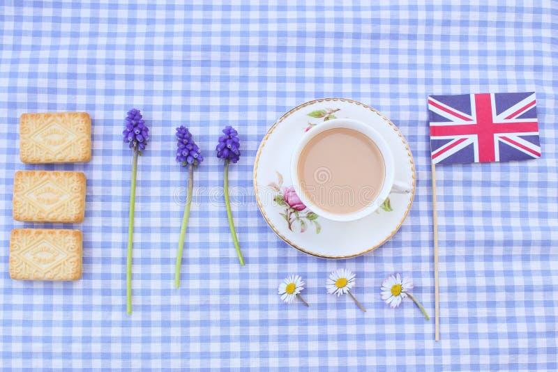 Britannici Cuppa immagine stock libera da diritti
