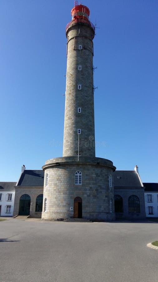 Britanny-Leuchtturm stockfotografie