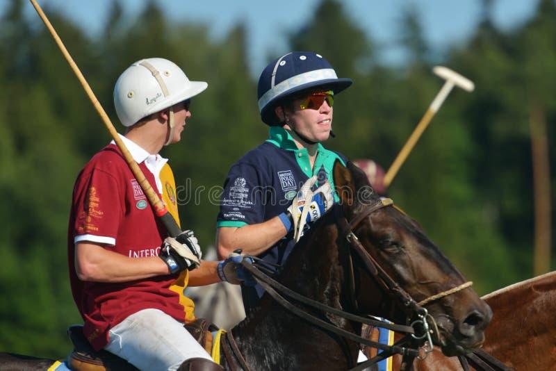 Briten Polo Day in Moskau stockfoto