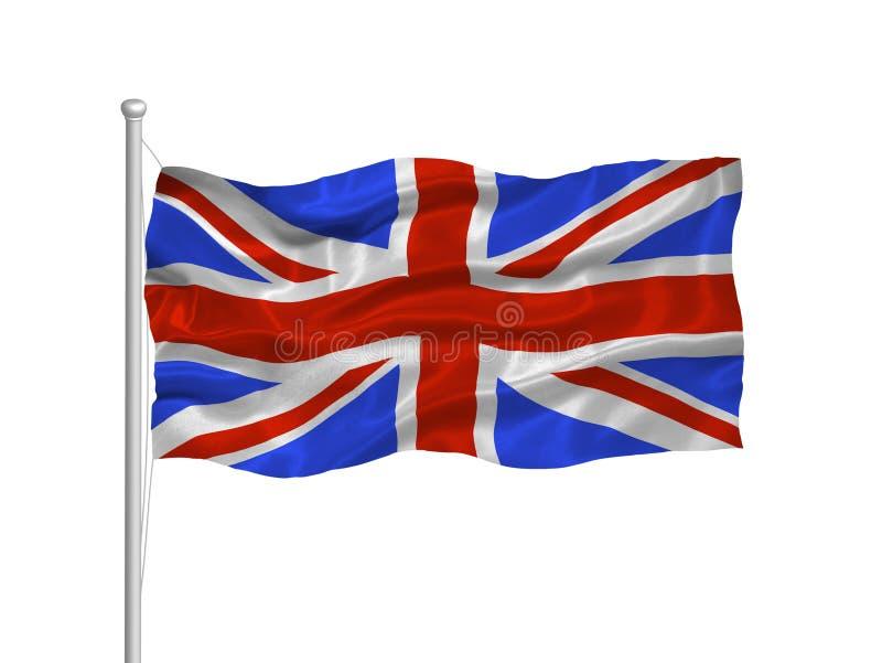 britian флаг 2 большой иллюстрация вектора