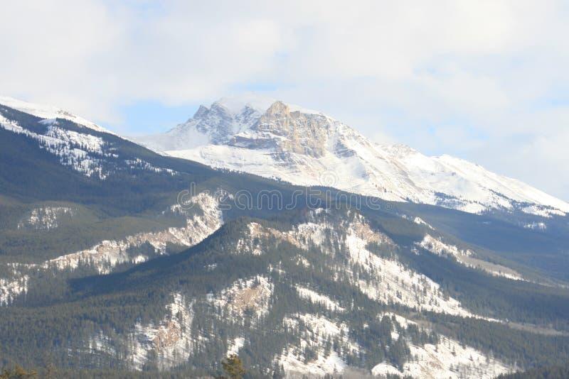 Britisch-Columbia, kanadische felsige Berge lizenzfreies stockbild