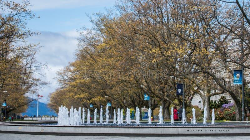 Britisch-Columbia-Universität stockfotografie