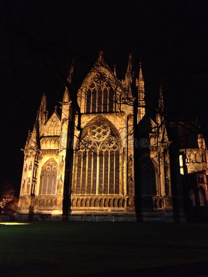 Britische Kathedrale lizenzfreies stockfoto