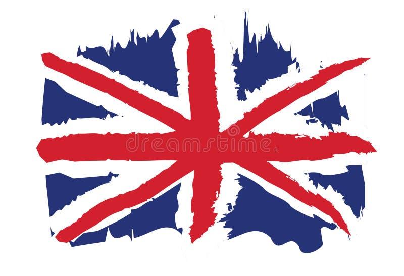 Britische Markierungsfahne vektor abbildung