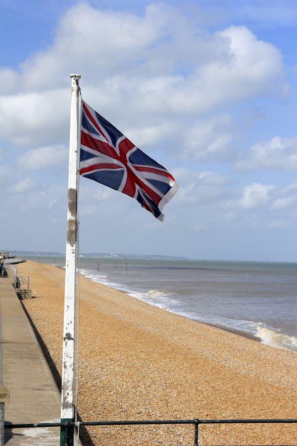 Download Britische Markierungsfahne stockbild. Bild von brise, emblem - 873575