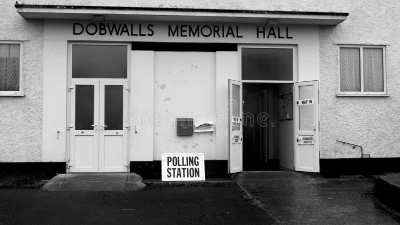 BRITISCHE Parlamentswahl am 8. Juni 2017 lizenzfreies stockbild