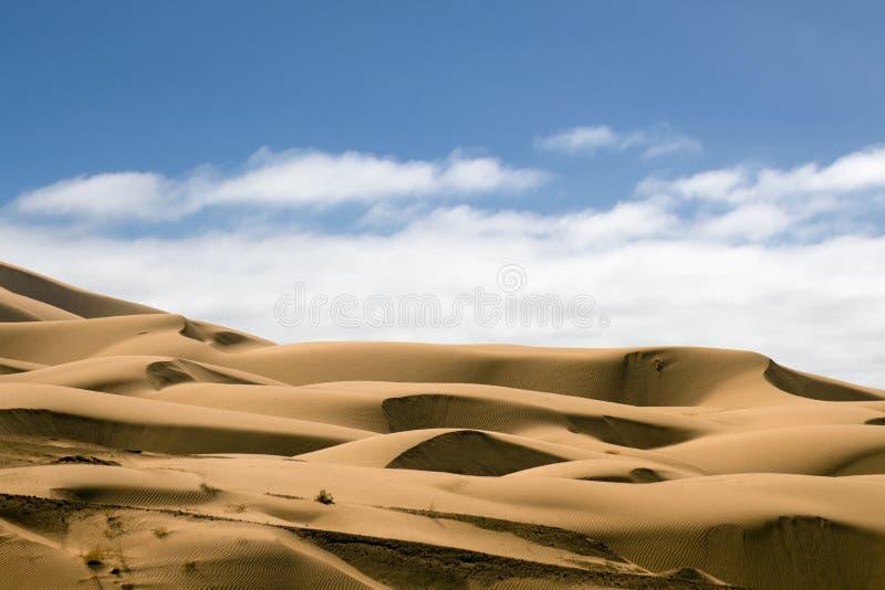 Britische Sanddünen, Kalifornien lizenzfreies stockbild
