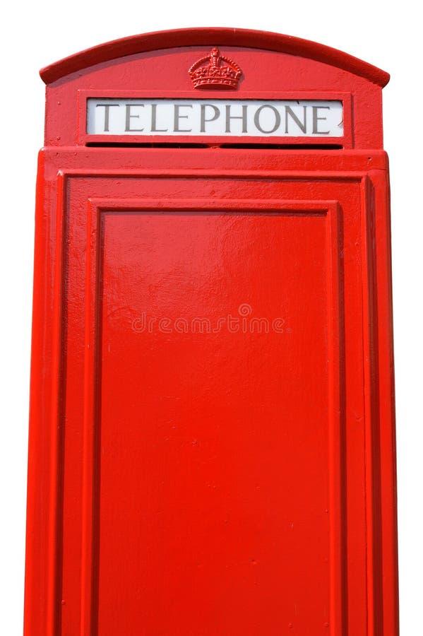 Britische Telefonzelle. lizenzfreie stockfotografie