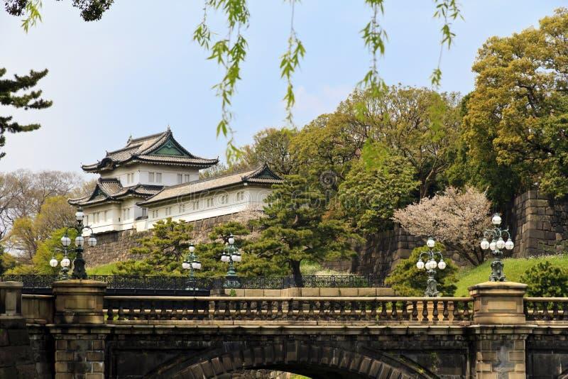 Britischer Palast von Tokyo stockbild