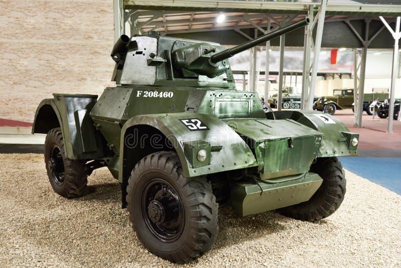 Britischer Panzerkampfwagen Daimler stockbild