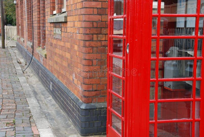 Britischer Telefonstand Lizenzfreie Stockfotografie