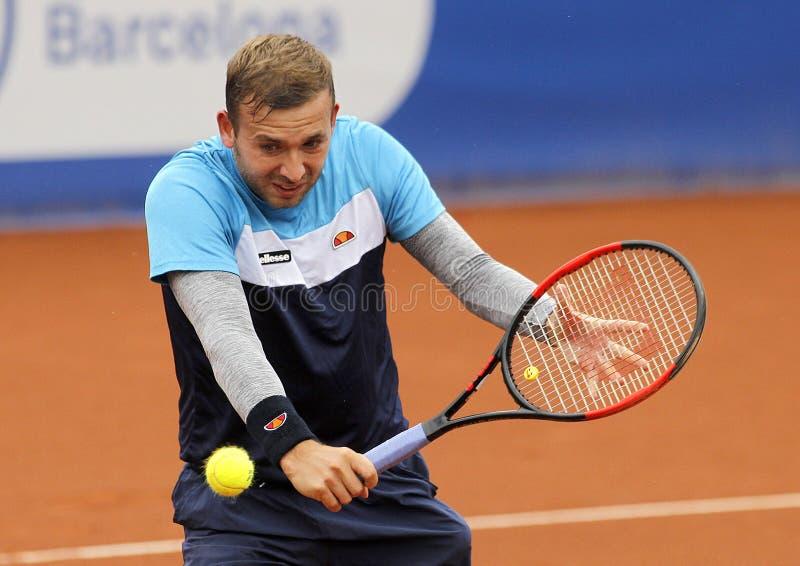 Britischer Tennisspieler Dan Evans lizenzfreies stockfoto