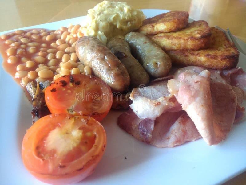 Britisches Frühstück lizenzfreies stockfoto