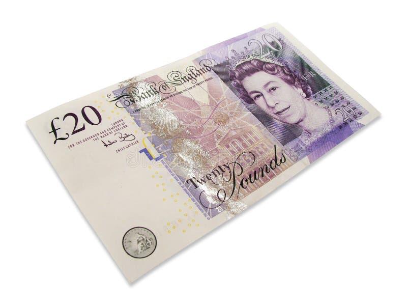BRITISCHES Geld lizenzfreie stockfotografie