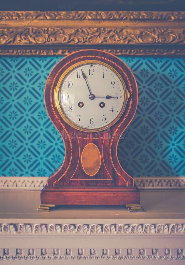 Britisches Luxushauptuhr-Detail lizenzfreies stockfoto