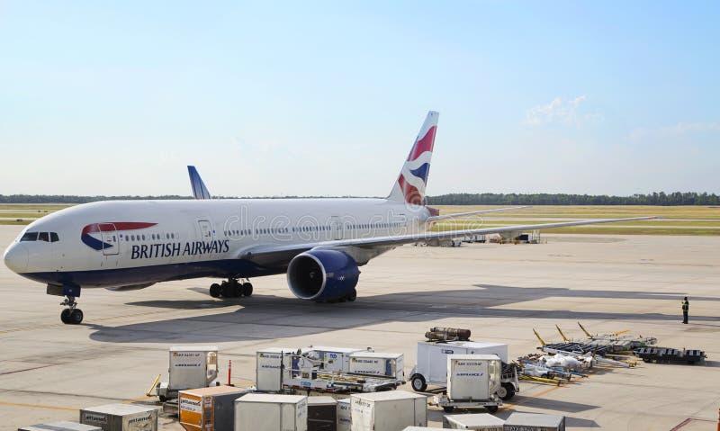 British Airways zdjęcie stock