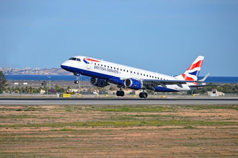 British Airways foto de archivo libre de regalías