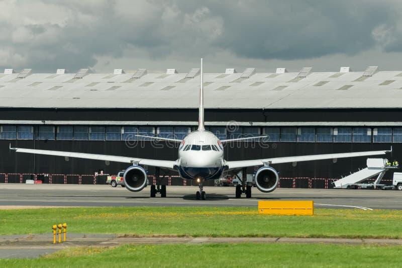 British Airways A318 photographie stock