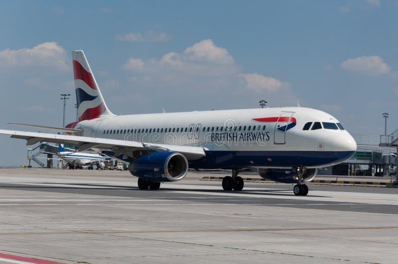 British Airways Airbus A320 image stock