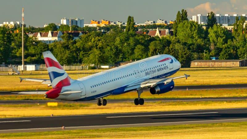 British Airways, Airbus A320, avions photo stock