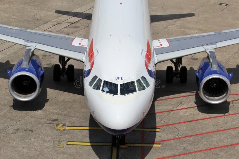 British Airways Airbus A319-100 royalty free stock photo