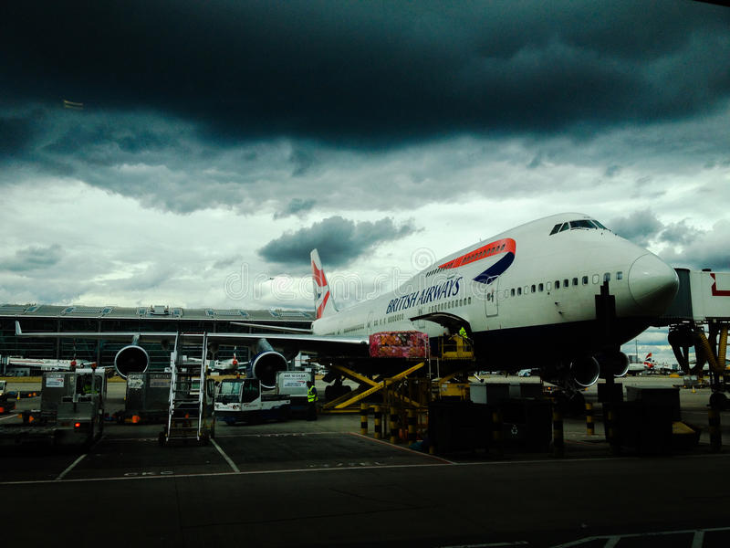 British Airways Aircraft At Airport Free Public Domain Cc0 Image
