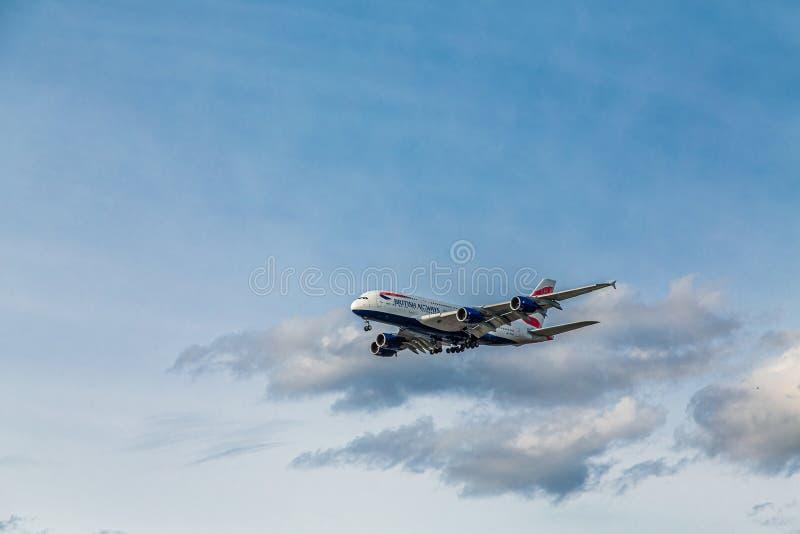 British Airways Ascending stock photo