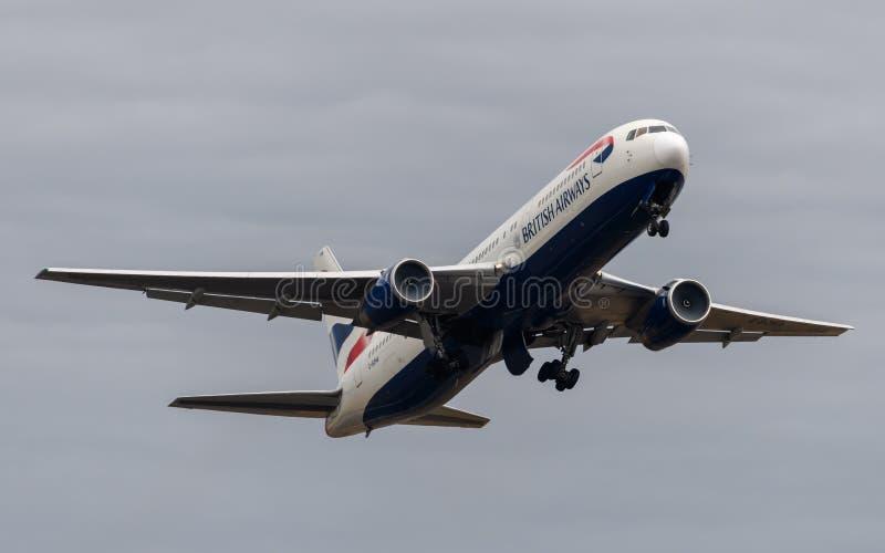 British Airways Boeing 767 photo libre de droits