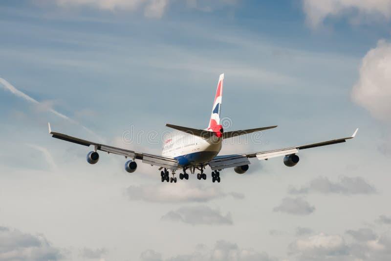 British Airways Boeing 747 Editorial Photo