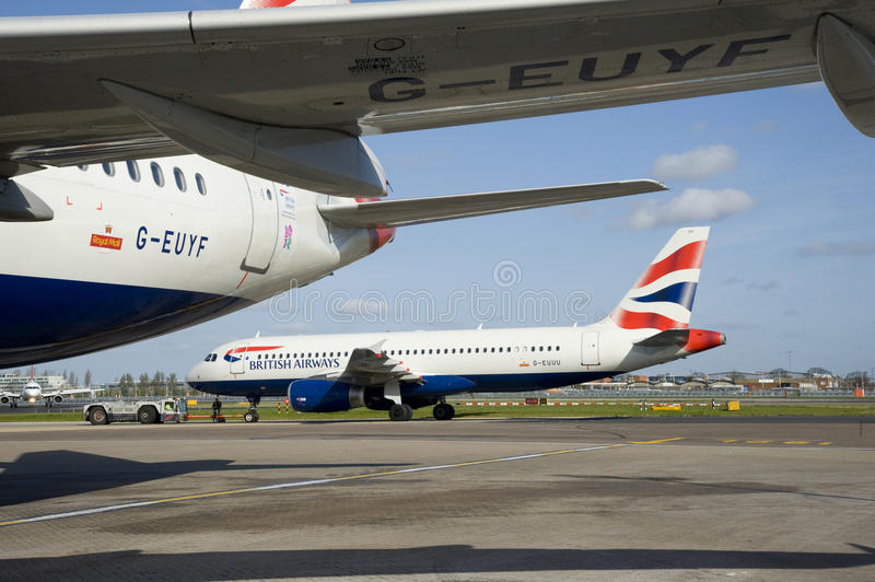 British Airways Heathrow Airport Editorial Photography