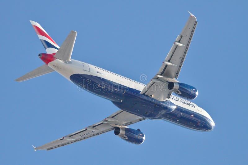 British Airways-Luchtbus A330 royalty-vrije stock afbeeldingen