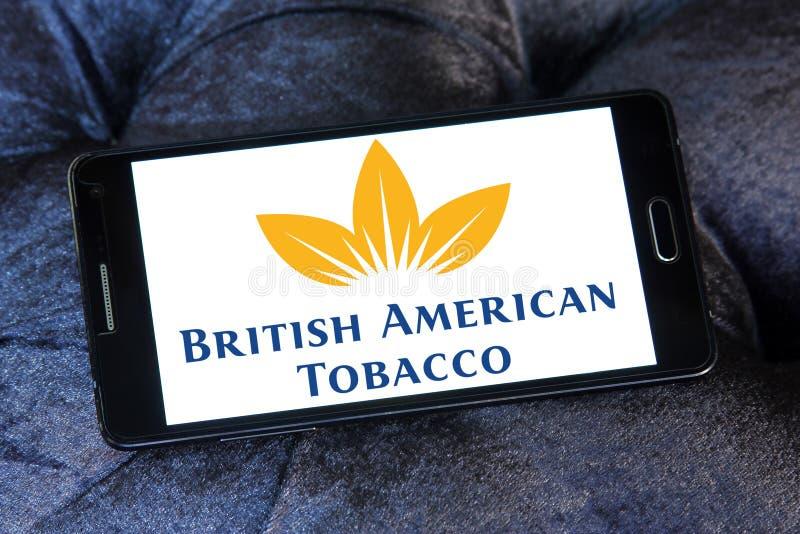 British American Tobacco company logo. Logo of British American Tobacco company on samsung mobile. British American Tobacco plc BAT is a British multinational stock photography