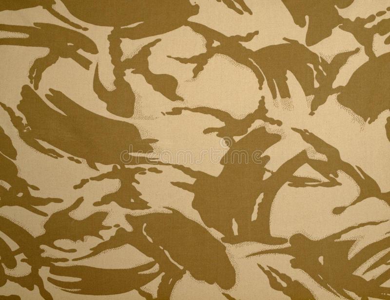 Download British Army Desert DPM Camouflage Stock Photo - Image: 18829620