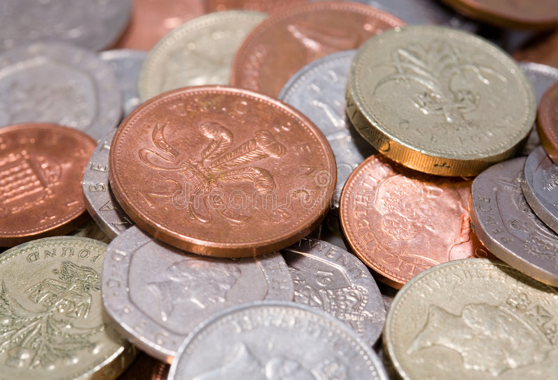 Download British coins stock photo. Image of change, savings, metal - 1327532