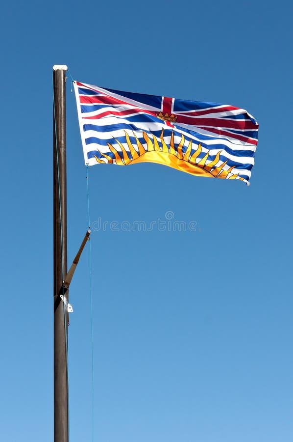 British Columbia Flag Royalty Free Stock Photos